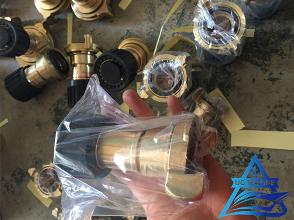 3-Position Fog Fire Hose Nozzle Delivered to Czech Customers