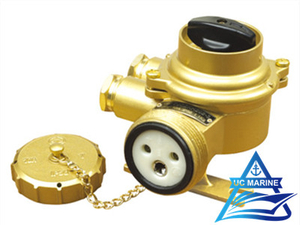 Marine Brass Socket with Switch TJCZKH202