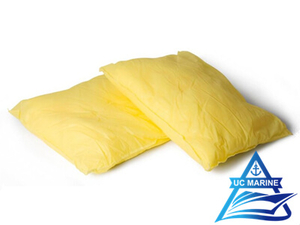 Yellow Hazmat Sorbent Pillows