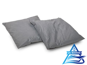 Gray Polypropylene Sorbent Pillows