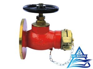 180° Marine Flanged Fire Hydrant