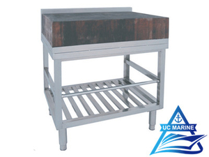 Marine Stainless Steel Chopping Block Table
