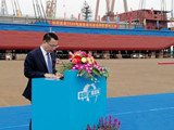 World's First 2,000-ton Electric Boat Launched
