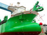 Dredger Bonny River Launched in China