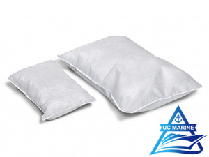 White Polypropylene Oil Absorbent Pillows