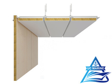 Gap Type D Composite Rock Wool Ceiling