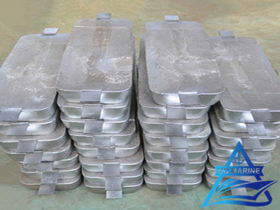 Zinc Anode for Ship Hull