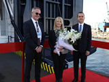 DFDS Named its Newest Ro-Ro Ship in Turkey