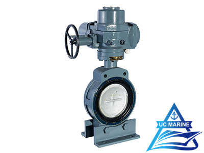 Marine Center-pivoted Electric-drive Butterfly Valve