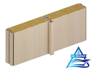 Type C Composite Rock Wool Wall Panel