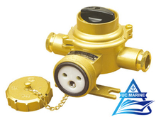 Marine Brass Socket with Switch TJCZKH201