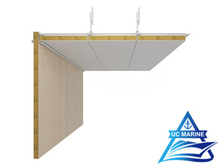 Non-Gap Type D Composite Rock Wool Ceiling