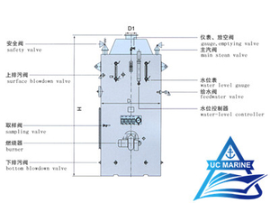 LSK Type Vertical Oil-fired Boiler