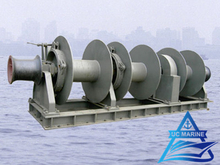 Three Drum Type Hydraulic Combined Mooring Winch