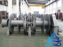 Two Drum Type Hydraulic Combined Mooring Winch