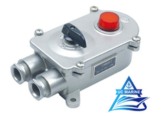Marine Stainless Steel Watertight Switch with Indicator Light