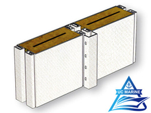 Type C Composite Rock Wool High Sound Reduction Panel