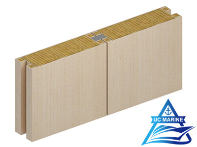 Type M Composite Rock Wool Wall Panel
