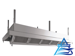 Marine Stainless Steel Kitchen Exhaust Hoods