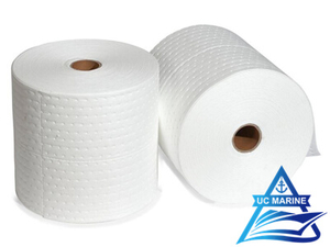 Oil-Only White Sorbent Rolls