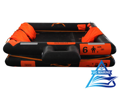 Open-Reversible Inflatable Life Raft