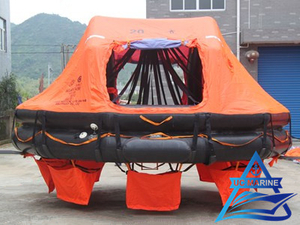 SOLAS Approved Davit Launched Inflatable Life Raft