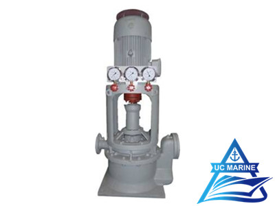 CLZ/2 Series Marine Vertical Self-priming Double-stage Double-outlet Centrifugal Pump