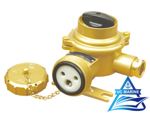 Marine Brass Socket with Switch TJCZKH109