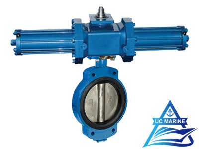 Marine Center-pivoted Hydraulic-drive Butterfly Valve