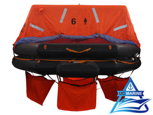 Throw Over Board Inflatable Life Raft