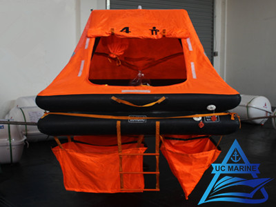 Throw-overboard Self-righting Yacht Inflatable Liferaft