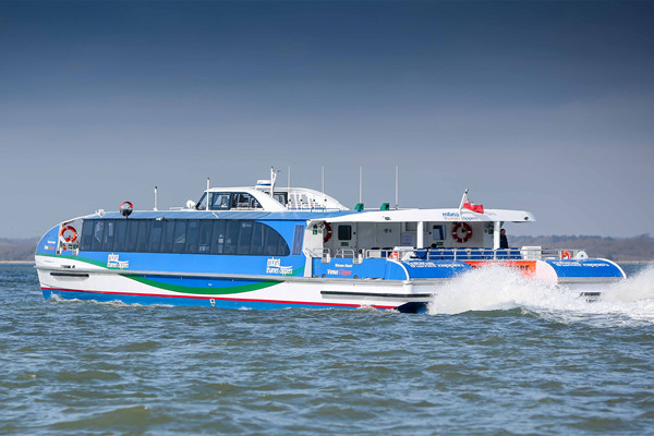 UK Wight Shipyard Delivers New Ferry