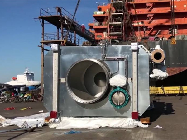 Danish Shipping to Install Exhaust Gas Scrubbers