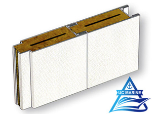 Type A Composite Rock Wool Acoustic Wall Panel