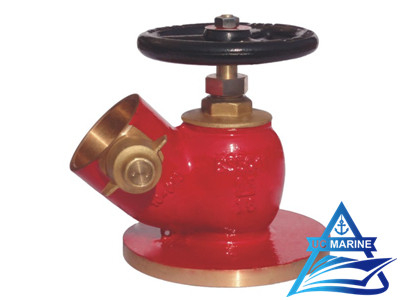 45° Flanged Fire Hydrant