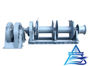 Double Shaft Type Hydraulic Single Windlass
