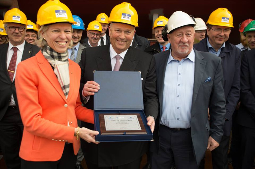 Ulstein Starts Assembling World's Largest Battery-Hybrid Ships