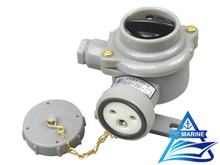 10A Marine Nylon Socket with Switch