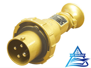 32A Marine Brass Watertight Plug