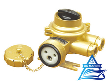 Marine Brass Socket with Switch TJCZKH209