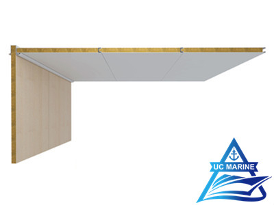 Non-Gap Type A Composite Rock Wool Ceiling