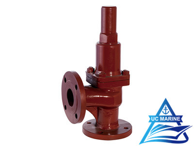 Cast Iron Flanged Angle Safety Valve