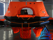 Throw-overboard Inflatable Liferaft for Fishing Boat