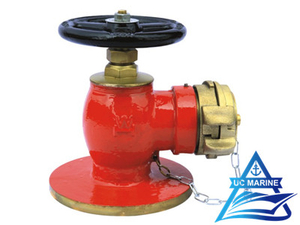 90° Marine Flanged Fire Hydrant