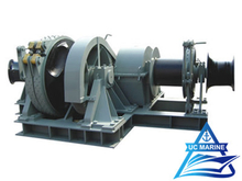 Biaxial Electric Combined Windlass And Mooring Winch