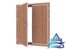 Double-leaf Weathertight and Gastight Fire Rated Door