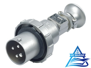 32A Marine Stainless Steel Watertight Plug