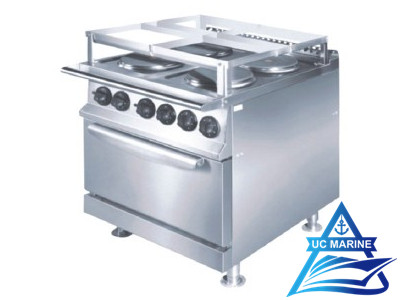 Marine Cooking Range with Oven (Round Hot Plate)