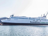 Scandlines' Second Hybrid Ferry Departs Shipyard