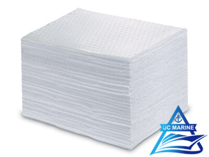 Oil-Only White Sorbent Mats